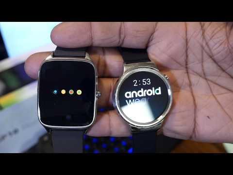 zenwatch 3 vs huawei watch