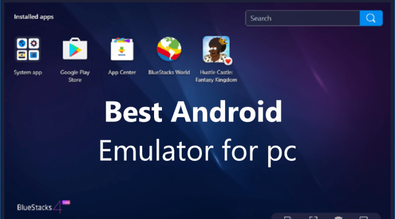 android emulator pc